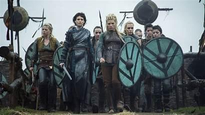 Vikings Tv Lagertha Season Shieldmaidens History Asplund