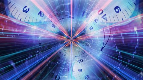 Clocks Tunnel Animation, Rendering, Time Travel Concept ...