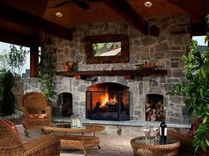 45, Beautiful, Outdoor, Fireplace, Ideas