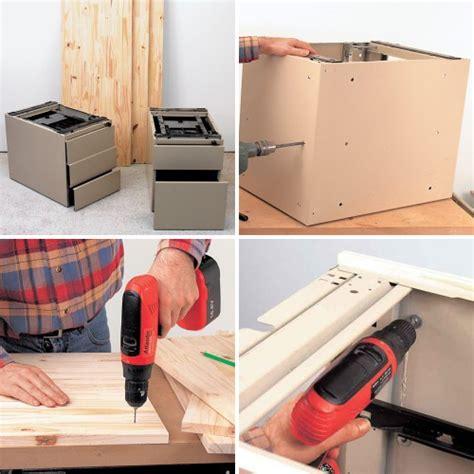 comment fabriquer un bureau avec des caissons bricobistro