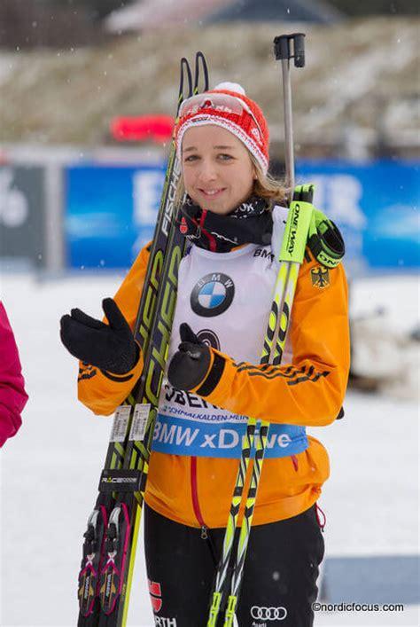 Her partner is biathlete simon schempp. Biathlon Weltcup Oslo: Franziska Preuss wieder dabei ...