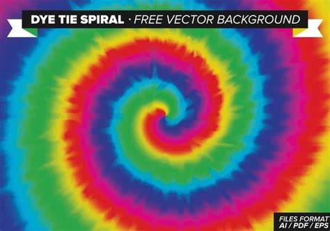 dye tie spiral  vector background  vector