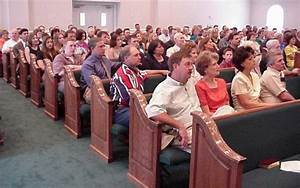 Church Pew Allows For Congregation To Worship As One