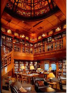 Personal Library on Pinterest | Home Libraries, Cozy ...