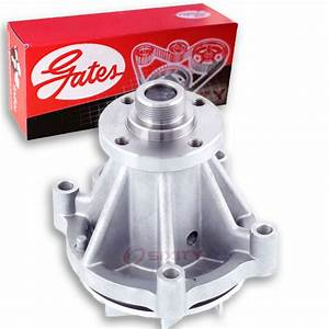 Gates Engine Water Pump For 1997