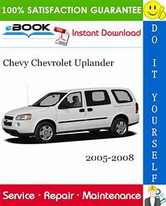 This Is The Complete Service Repair Manual For The Chevy