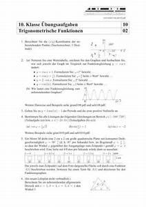 Scheitelpunkt Berechnen Aufgaben Mit Lösungen : trigonometrische funktionen bungen und aufgaben mit l sungen schulminator ~ Themetempest.com Abrechnung