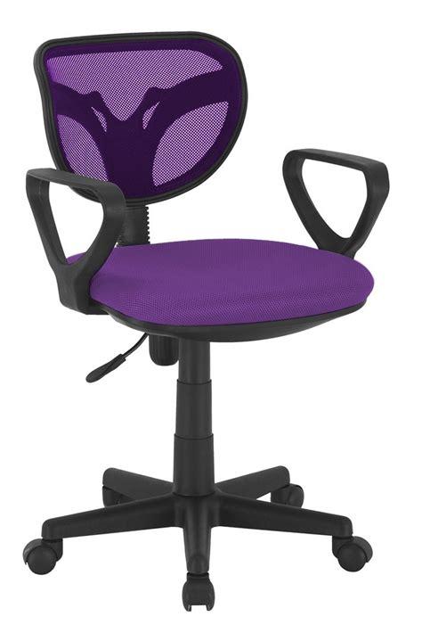 chaise de bureau enfants chaise de bureau violet