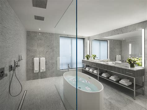 luxe lavs new hotel bathroom designs