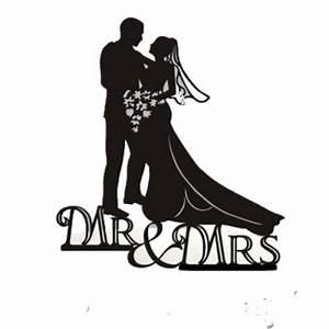 Dessin Couple Mariage Noir Et Blanc : figurine mariage mr et mrs sujet mariage pi ce mont e ~ Melissatoandfro.com Idées de Décoration