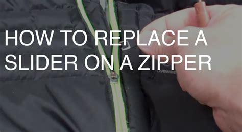 how to fix a zipper zipper repair archives ucan zippers usa