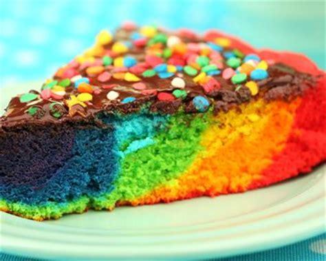 table a manger cuisine recette gâteau au yaourt multicolore