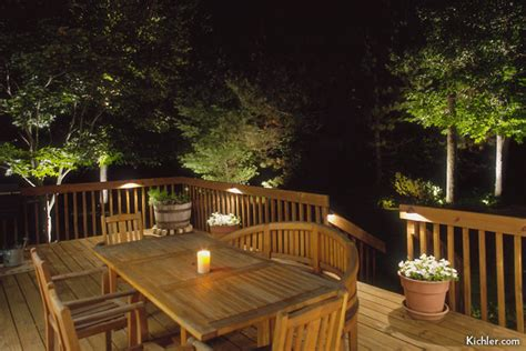 deck lighting ideas deck stair lighting houselogic