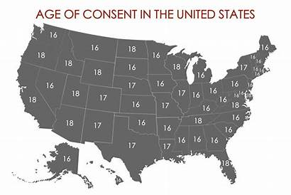 Consent Age States Map United Legal Canada