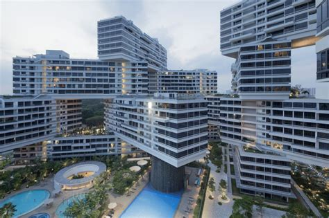 The Interlace Singapore Turns Highrise Its Ear