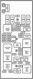 Chevrolet Epica  2000 - 2006   U2013 Fuse Box Diagram