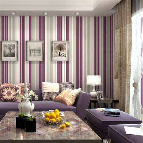Chic Stripes Wallpaper For A Tasteful Interior Design
