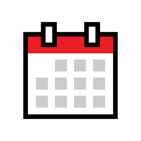 calendar schedule vector icon   vectors