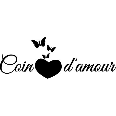 chambre d amour sticker citation chambre coin d 39 amour stickers citations