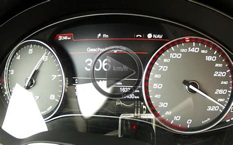Audi S7 Top Speed by Abt Audi S7 Top Speed Run