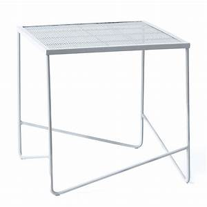 Home Republic - Adelphi Outdoor Side Table White