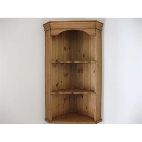 wall mounted corner cabinet pine wall corner unit w49cm