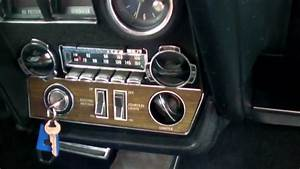 1968 Oldsmobile Toronado Features And Functions