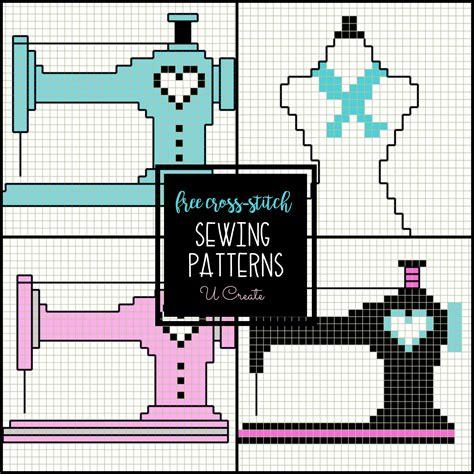 sewing machine cross stitch patterns