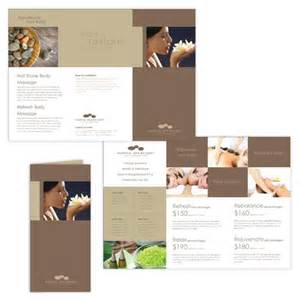 Spa Brochure Templates Free Downloads