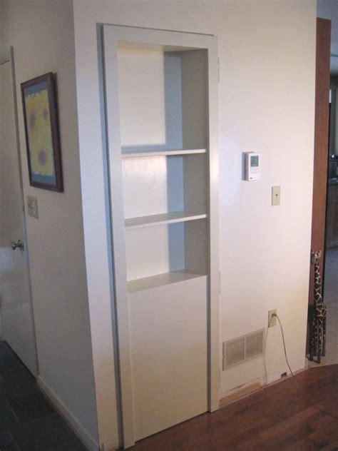 Home Interior Kitchen Design Hidden Storage Wardrobe