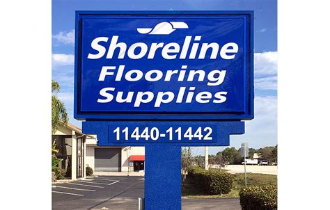 shoreline flooring supplies fort myers refurbished pole sign ft myers florida signs by crannie