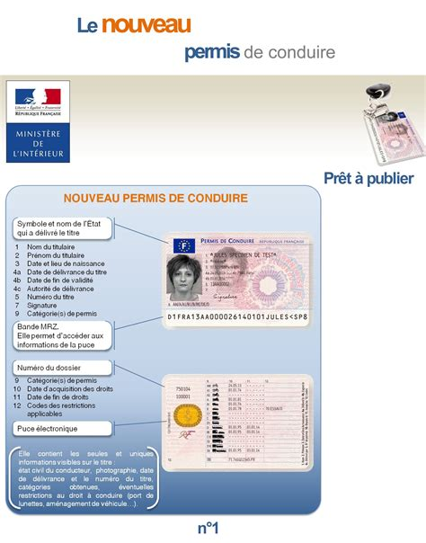 nouveau permis de conduire validité permis de conduire le nouveau format fait entr 233 e officielle aujourd hui mag motardes