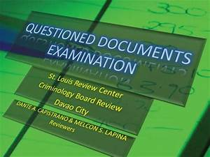 questioned documents examination discussions1 authorstream With questioned documents ppt