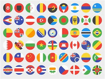 Flags Country Dribbble Flag Simplified Calvert Google