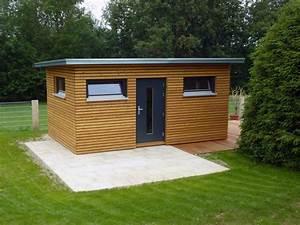 Gartenhaus Holz Modern : moderne gartenh user kaupp blockhaus ~ Whattoseeinmadrid.com Haus und Dekorationen