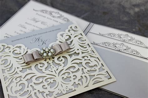 Elegant Wedding Invitations Brides Little Helper