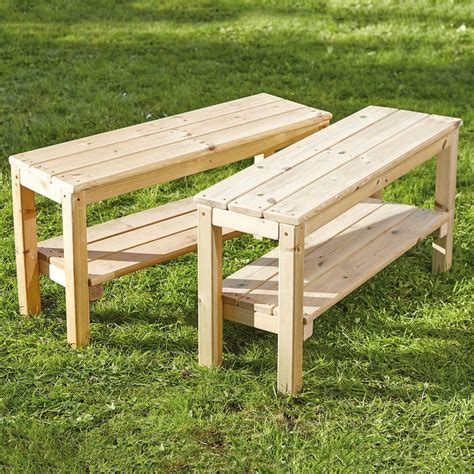 wood bench   unifying woods picking