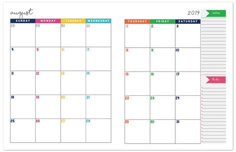 monthly calendar planner printable calendar