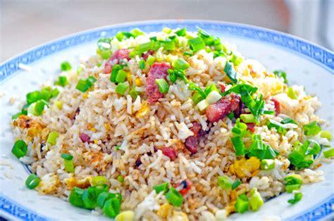cuisiner des lardons riz aux oeufs et lardons en cuisine réunionnaise