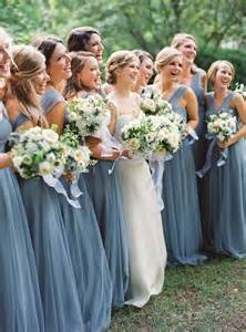 blue grey bridesmaid dresses charming wedding with dusty blue details modwedding