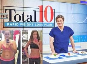 Dr. Oz Rapid Weight Loss Diet Plan