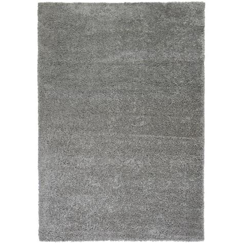 solid grey rug well woven plain solid grey thick plush shag area rug 6 7
