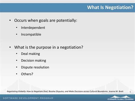 negotiation principles prezentatsiya onlayn