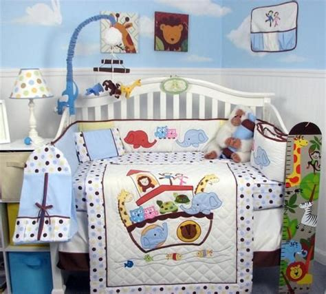 Noahs Ark Crib Bedding by Soho Ark In Genesis Baby Crib Nursery Bedding Set 13 Pcs