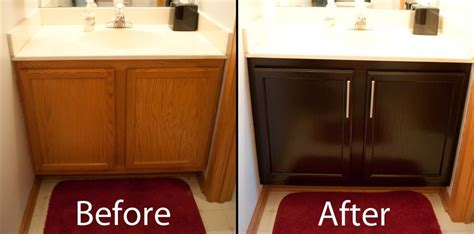 how to restain oak kitchen cabinets restaining kitchen cabinets before and after diy stuff 8892