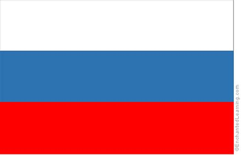 russias flag enchantedlearningcom
