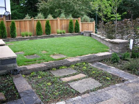 Image Of Front Yard Landscaping Ideas With Fence Small