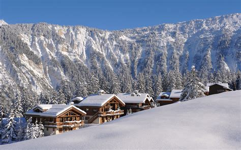 ski in ski out chalets luxury ski chalet chamois lodge courchevel 1650 firefly collection