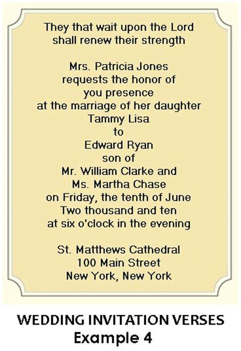 wording for wedding invitations christian wedding invitation wording