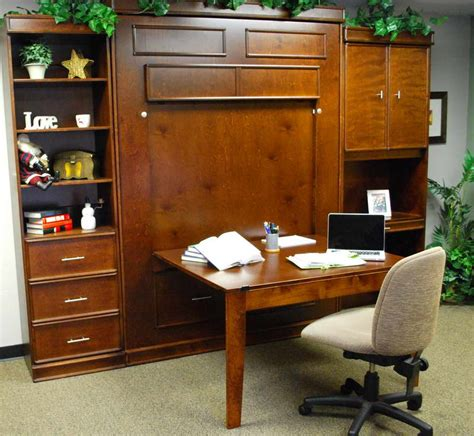 murphy bed office desk combo furniture what you can expect of murphy bed desk combo